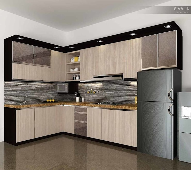 MODULAR KITCHEN:   by Al Hashro Interiors