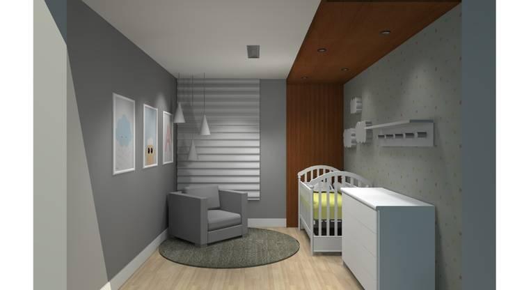 Quarto de Bebê: Quartos de bebê  por Ana de Oliveira Designer de Interiores