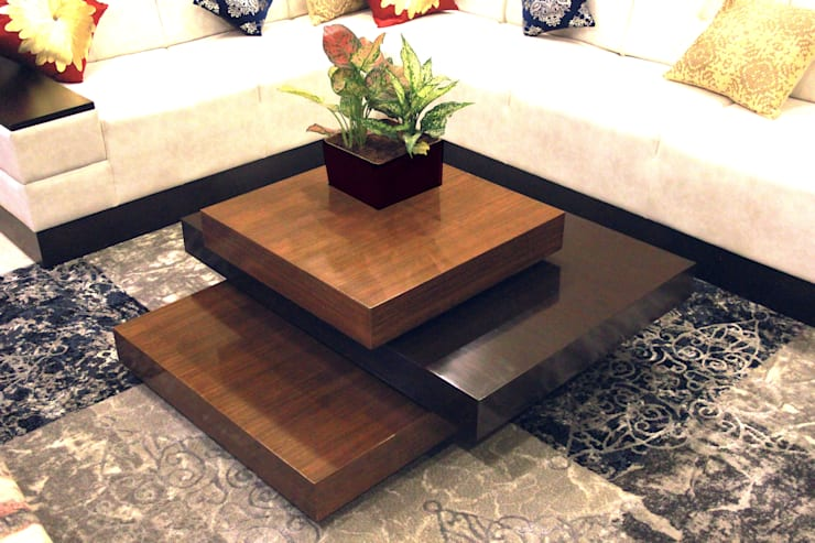 The Villa: modern Living room by Ideagully Products Innovations Private Limited