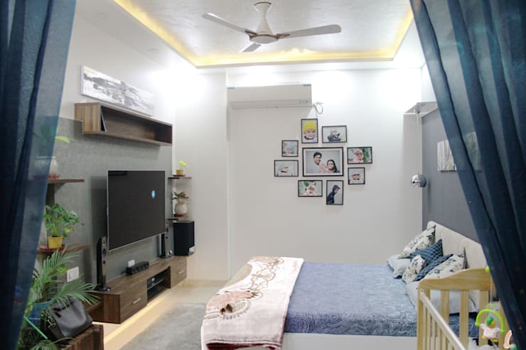 The Villa:  Bedroom by Ideagully Products Innovations Private Limited