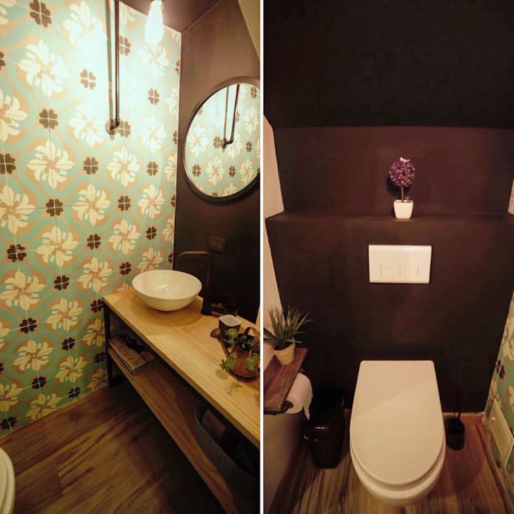 Bathroom by RIVAL Arquitectos  S.A.S.