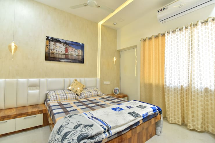 bed room:  Bedroom by Alag Interior,Modern