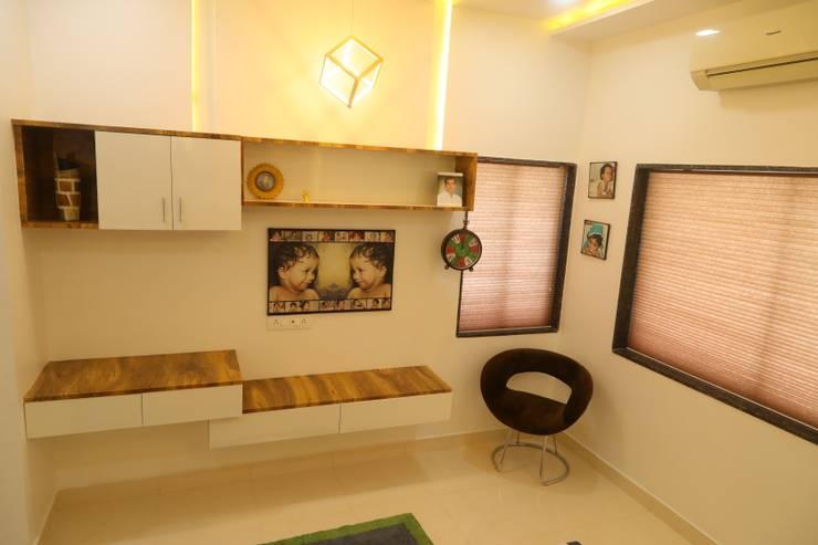 kid's room:  Bedroom by Alag Interior,Modern