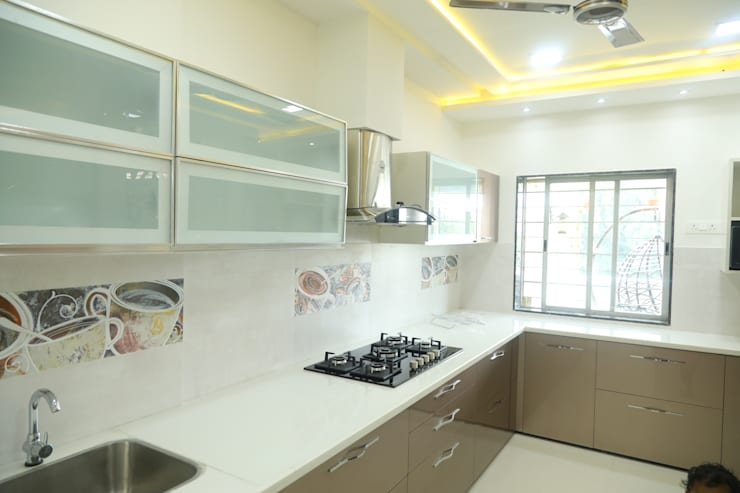 renovation of 8bhk house:  Kitchen by Alag Interior,Modern