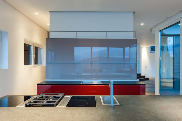 Built-in kitchens by JBA Architects,