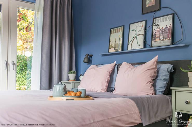 Slaapkamer Kleur Blauw : Slaapkamer in blauw zorgt voor beste nachtrust