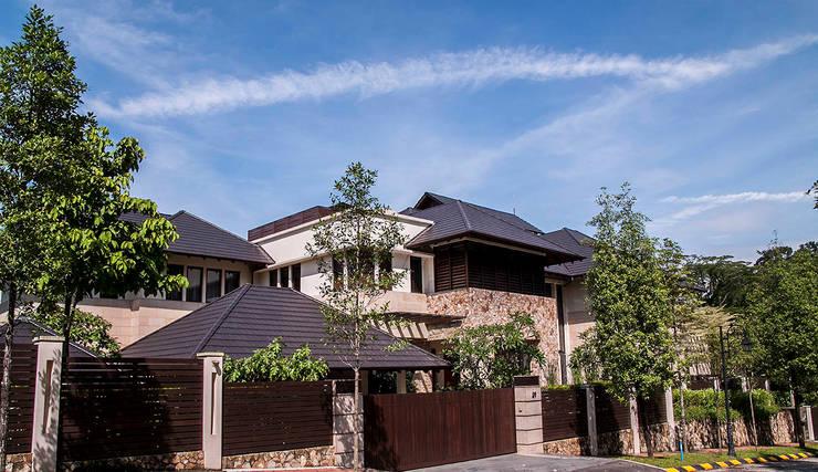 Exterior :  Houses by MJKanny Architect