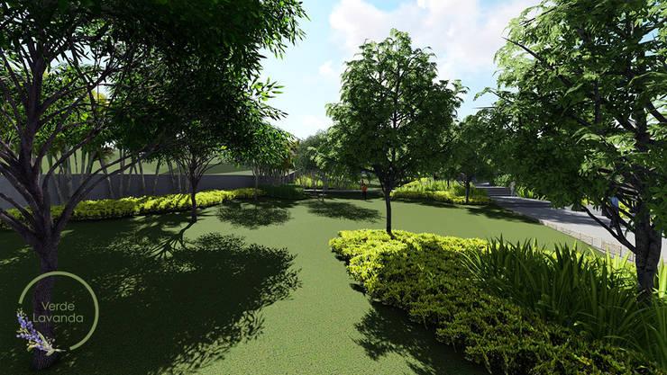 áreas verdes: Jardines de estilo  por Verde Lavanda