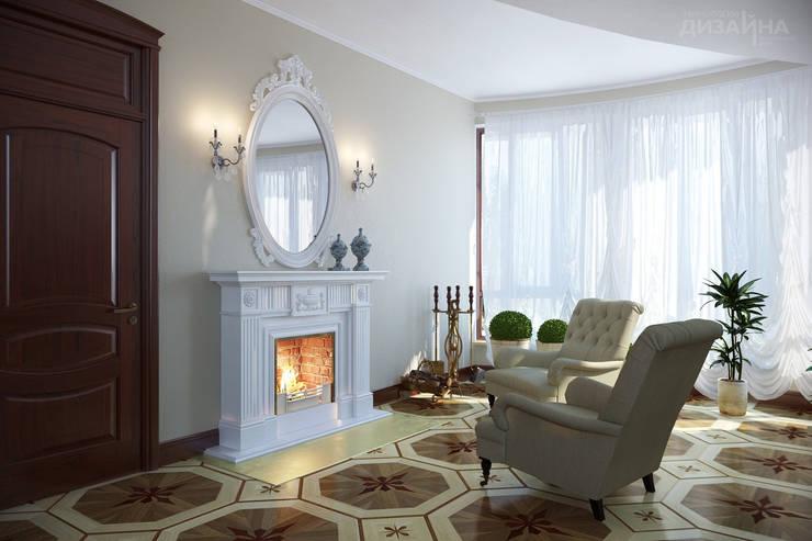 Гостиная в классическом стиле в Минеральных водах Гостиная в классическом стиле от Технологии дизайна Классический