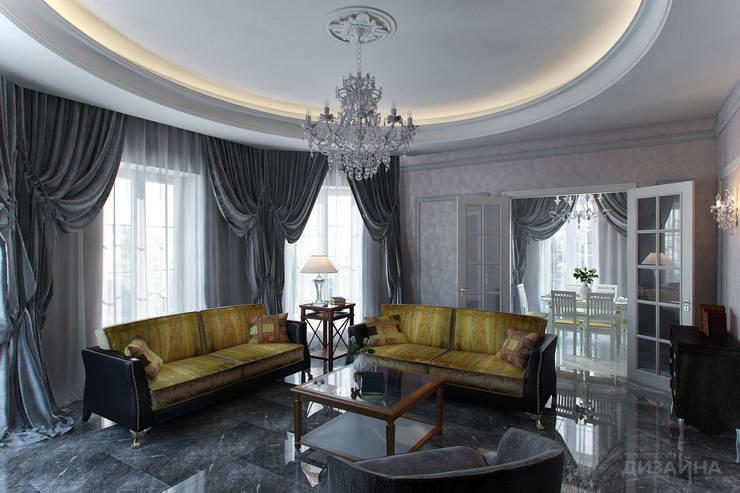 Гостиная в классическом стиле в д. Орлово Гостиная в классическом стиле от Технологии дизайна Классический