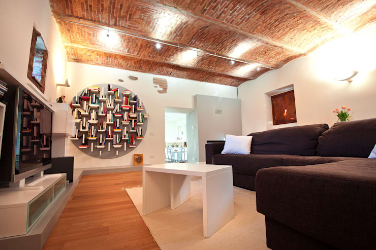 Salas / recibidores de estilo  por Annalisa Carli