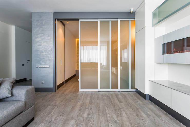 Спальня:  в . Автор – Архитектурное бюро FACE-HOME