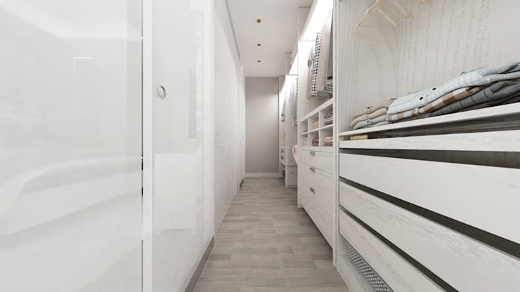 Closets de estilo  por De Vivo Home Design