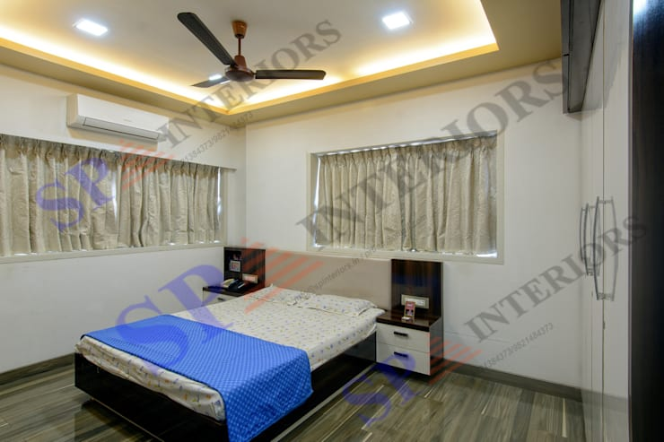 Mr.Chokshi:  Bedroom by SP INTERIORS,Modern
