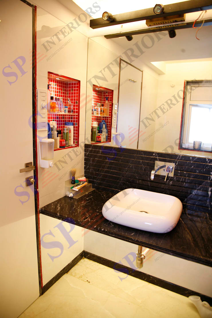 Shalin Jain: modern Bathroom by SP INTERIORS