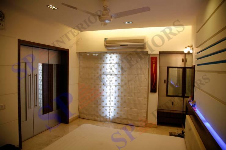 Shalin Jain: modern Bedroom by SP INTERIORS