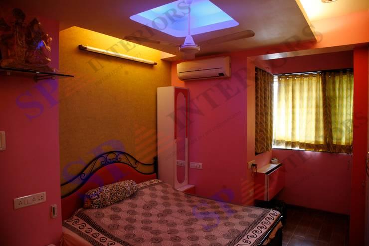 Shahil Bhai:  Bedroom by SP INTERIORS,Modern