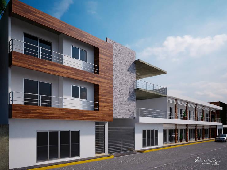 MADEIRA: Condominios de estilo  por Grupo ARK