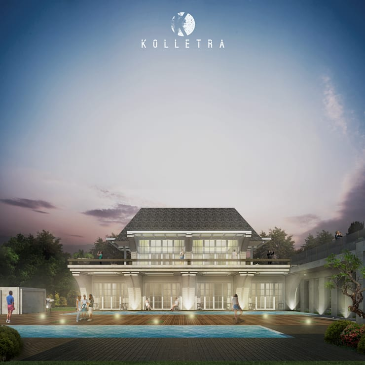 Rumah Rancamaya:   by Kolletra Visual Studio