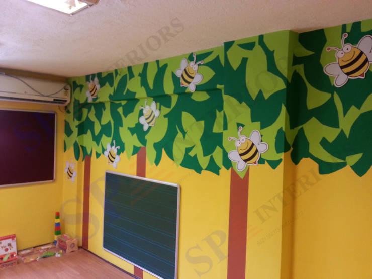 bee hive play school:  Schools by SP INTERIORS,Modern