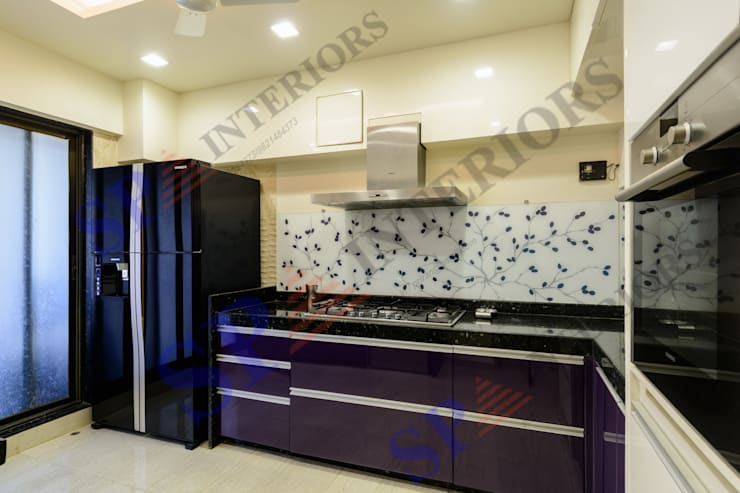 Ajay Bali:  Kitchen by SP INTERIORS