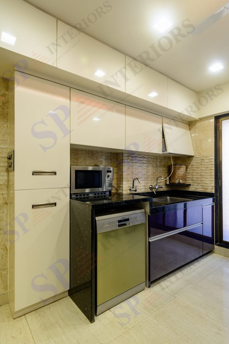 Ajay Bali: modern Kitchen by SP INTERIORS