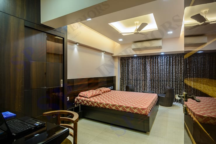 Ajay Bali: modern Bedroom by SP INTERIORS