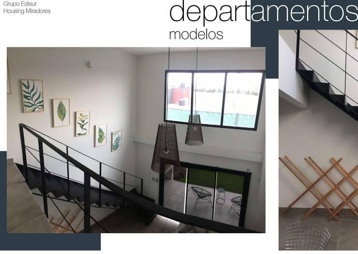 Housing de Miradores - Casa modelo: Hogar de estilo  por MARIAMOURATOGLOU,
