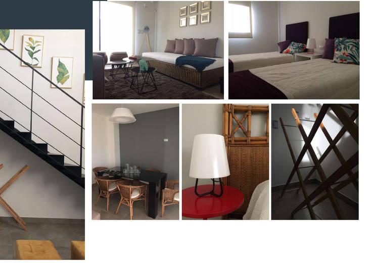 Housing Modelo: Hogar de estilo  por MARIAMOURATOGLOU,