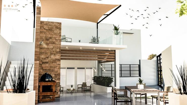 Casas de estilo  por Arch DB - Arquitectos