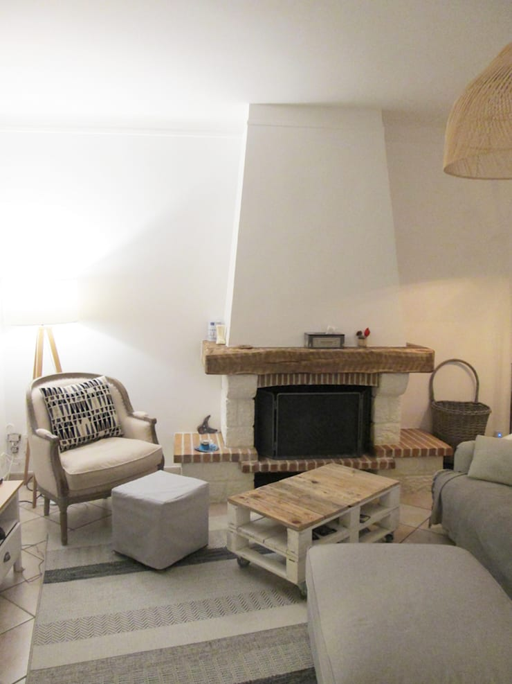 Living Room By Coralie Balléry Décoration
