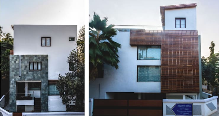 CASA SONAS:  Houses by CARTWHEEL,Modern