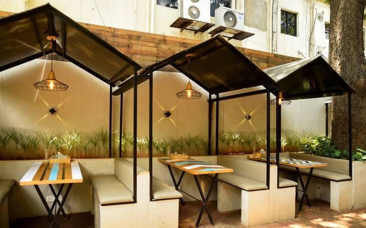 CAFÉ DE PARIS – the glasshouse:  Gastronomy by CARTWHEEL,Modern