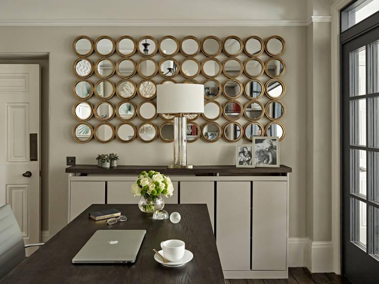 مكتب عمل أو دراسة تنفيذ Tailored Living Interiors