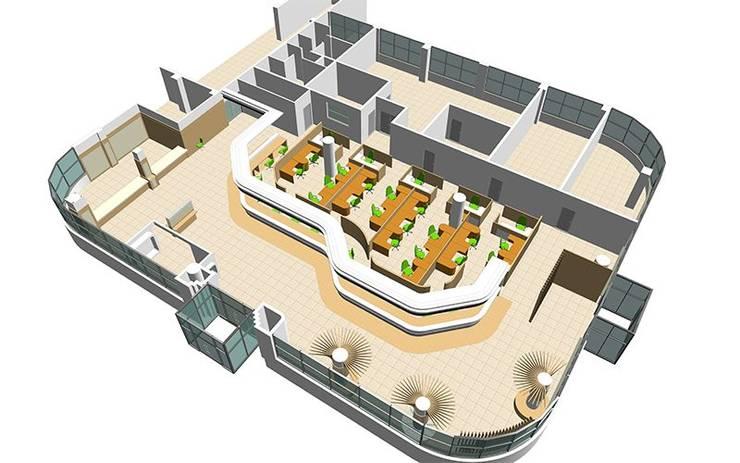 분당구청 민원실 인테리어: 알엠코리아의  사무실