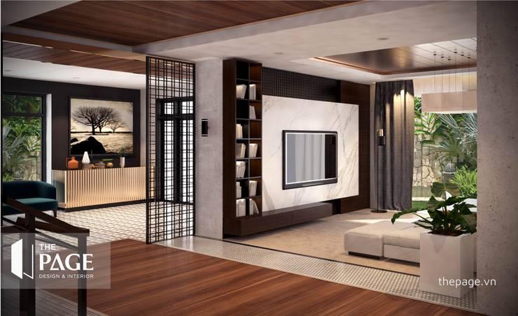 VILLA VŨNG TÀU:  Đồ điện tử by The Page Interior & Design