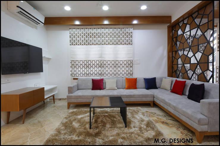 Salas / recibidores de estilo  por malvigajjar