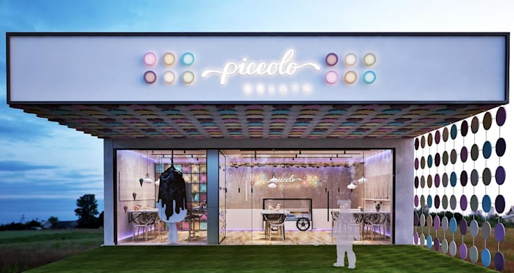 Piccolo:  Commercial Spaces by Designism