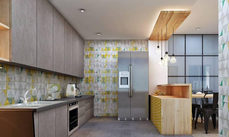 مطبخ تنفيذ Designism