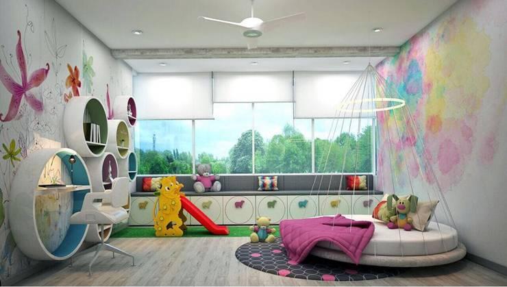 Dormitorios infantiles de estilo  por Designism
