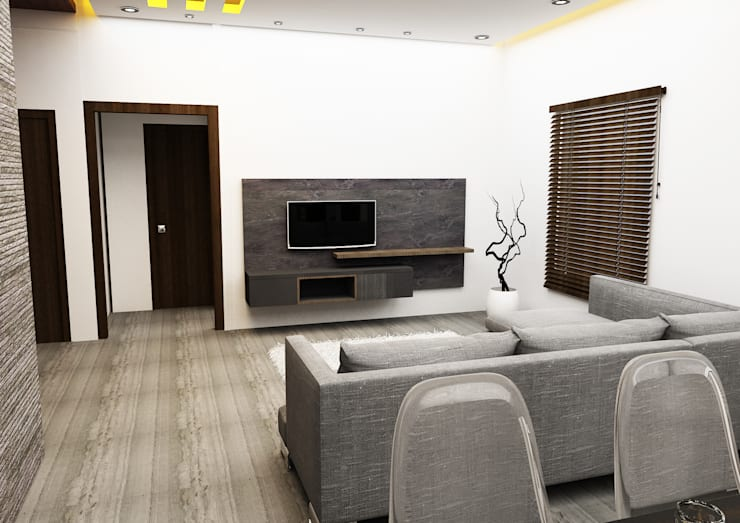 Residential:  Living room by Designism