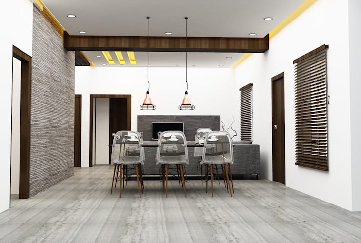 Residential: modern Dining room by Designism