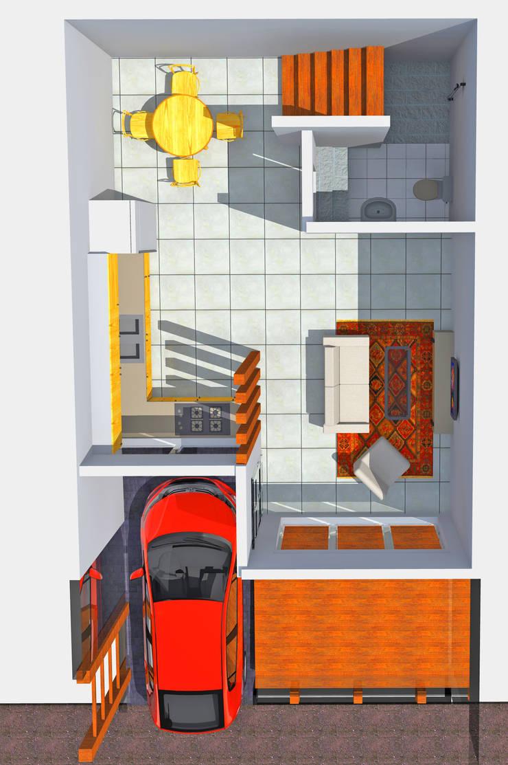 Denah Lantai 1:   by SMarchdesign12
