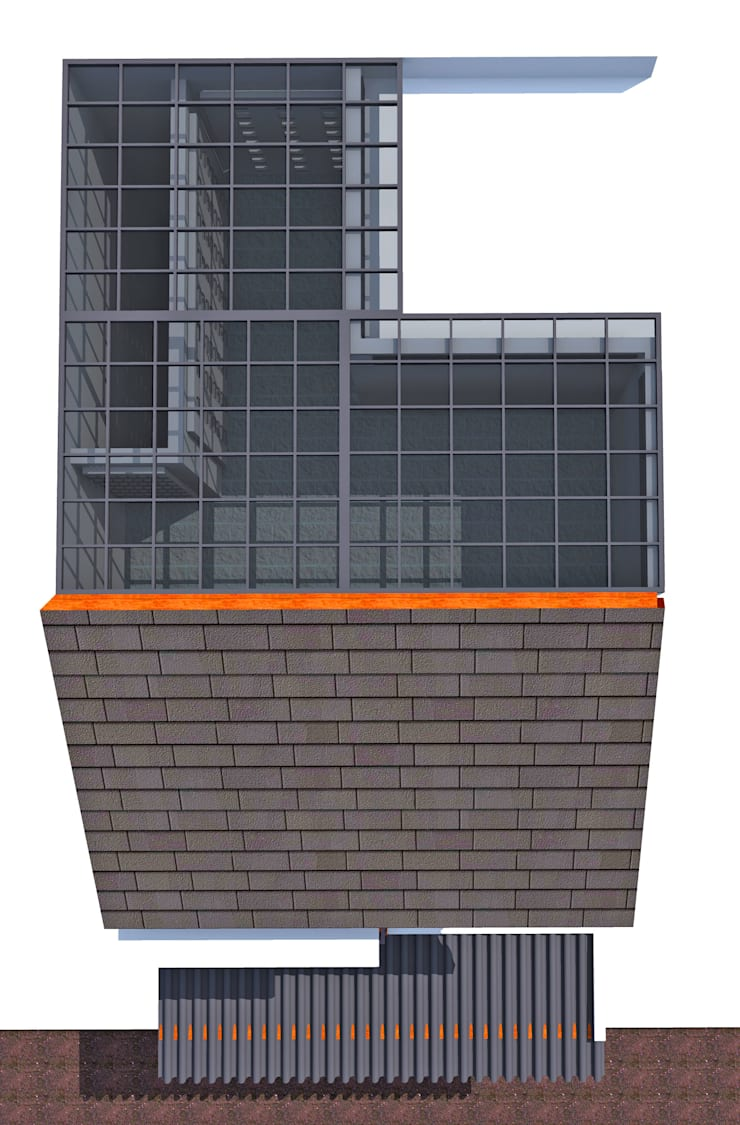 Denah Atap:   by SMarchdesign12
