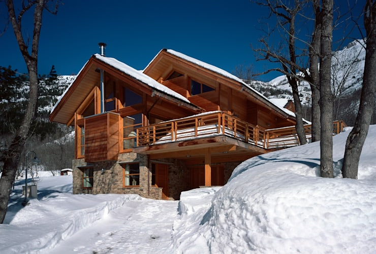 Casas de estilo  por VillaBio