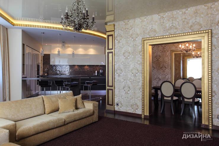 Гостиная в стиле ар деко на пр. Маршала Жукова: Гостиная в . Автор – Технологии дизайна,