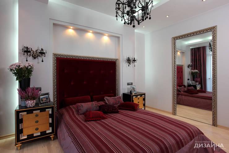 Спальня в стиле ар деко на пр. Маршала Жукова: Спальни в . Автор – Технологии дизайна,