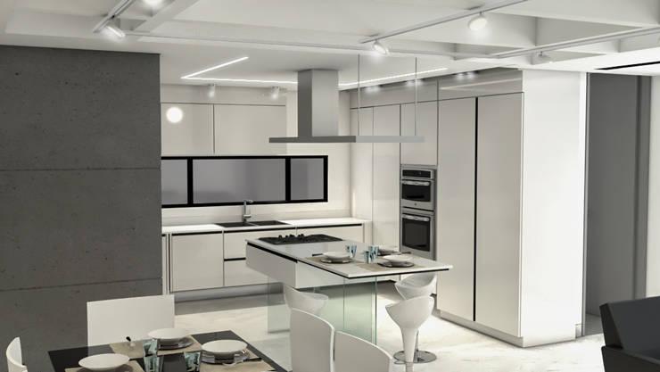 Remodelación Apartamento Montoya: Cocinas integrales de estilo  por ProEscala- Arquitectos