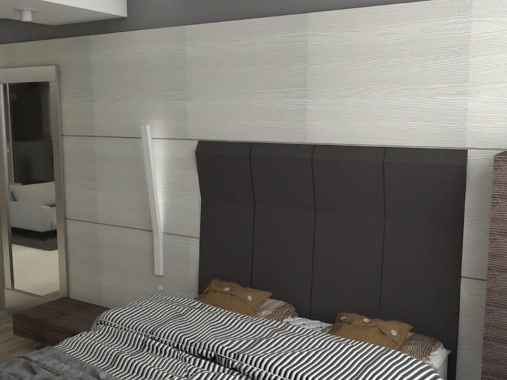 Remodelación Apartamento Montoya: Habitaciones de estilo moderno por ProEscala- Arquitectos