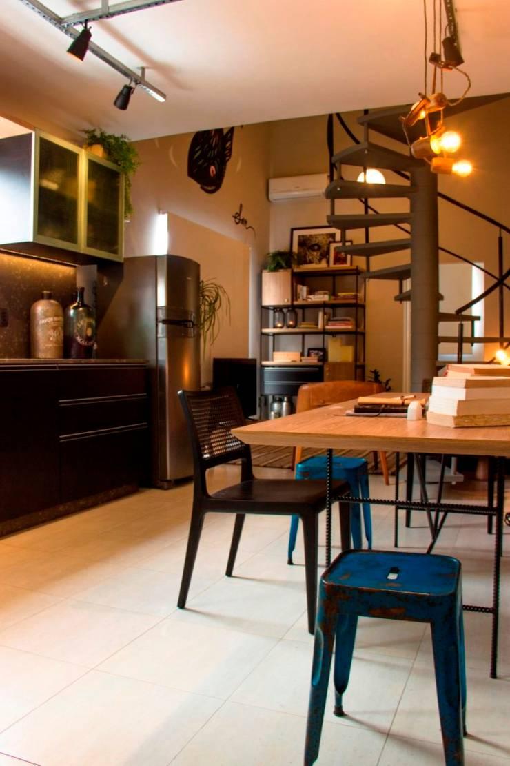 Phòng ăn theo ArchDesign STUDIO, Hiện đại
